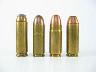 .475 Wildey Magnum pistol cartridge