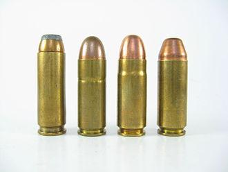 .45 Magnum - Image: Wildey Cartridges