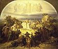 Wilhelm von Kaulbach die Kreuzfahrer vor Jerusalem.jpg
