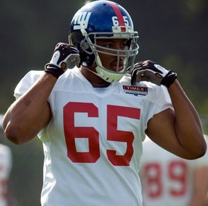 Will Beatty - Beatty with the New York Giants in 2009