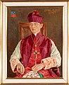 Willem Adolfs - Portret van Johan Hubert (Jobs) Bonjer, wij-bisschop van de Vrij Katholieke Kerk (ingelijst).jpg