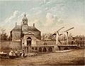 Willem Hekking - De Utrechtsche Poort in Julij 1858.jpg