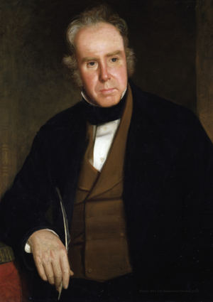 William Carleton - William Carleton by John Slattery, circa 1850s