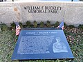 William F. Buckley Memorial - Stoneham, MA - DSC04293.JPG