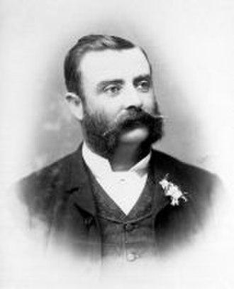 William Pitt (architect) - Portrait as Mayor of Collingwood in 1891
