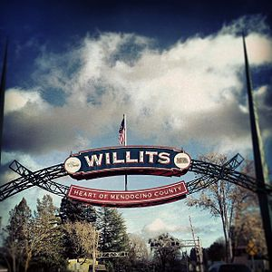 Willits, California - Willits Arch