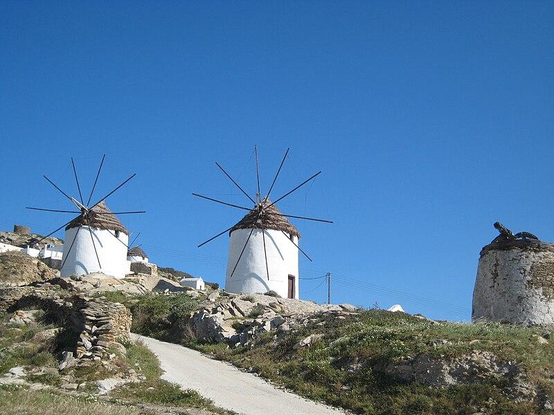 File:Windmills in Ios island, Cyclades, Greece.jpg