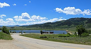 Windy Gap Reservoir reservoir in Grand County, Colorado