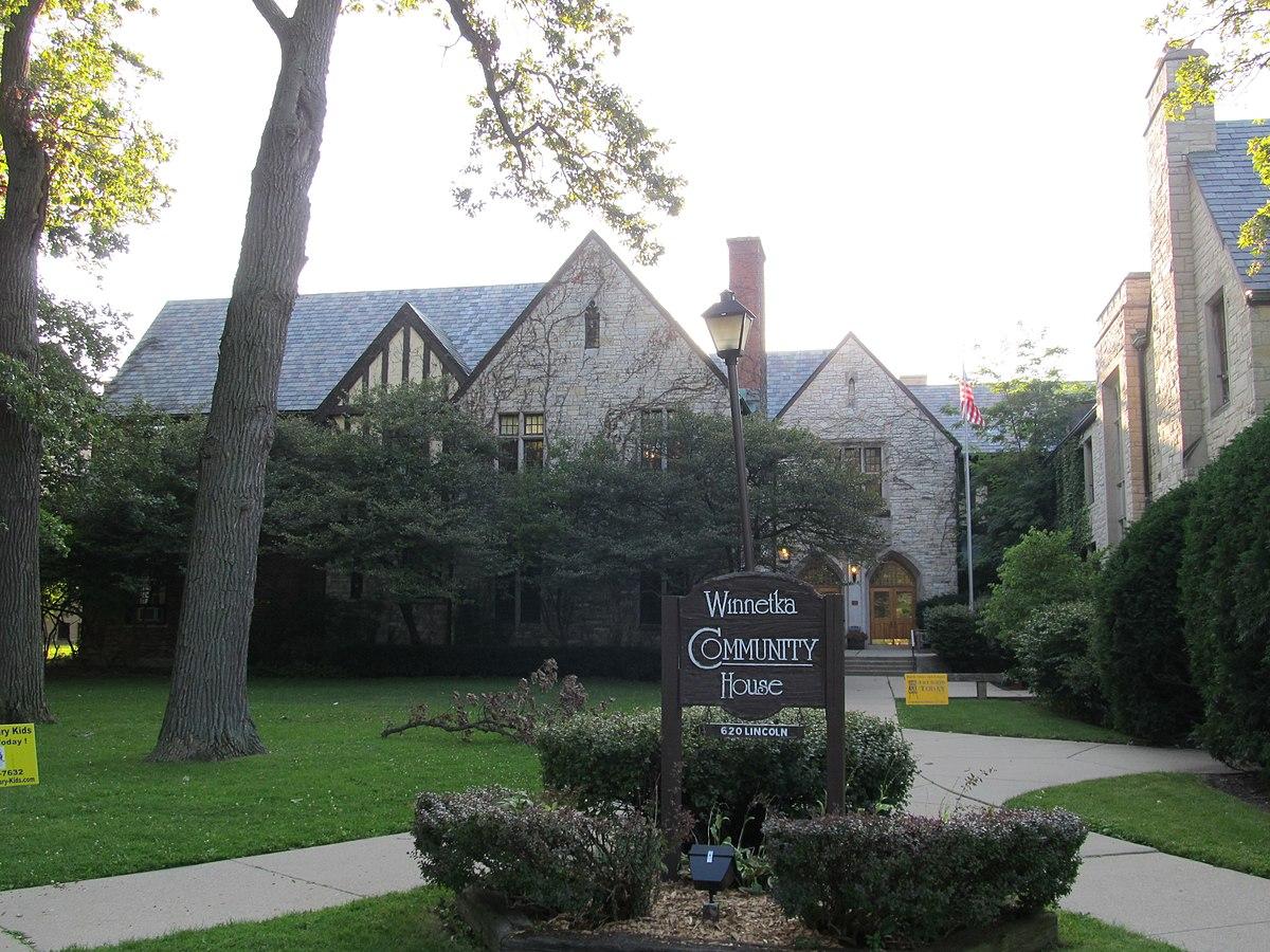 Community House Winnetka Illinois Wikipedia