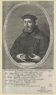 Wolfgang Capito German religious reformer