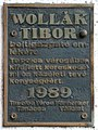 Wollák Tibor plaque (Tapolca Deák Ferenc u 6).jpg
