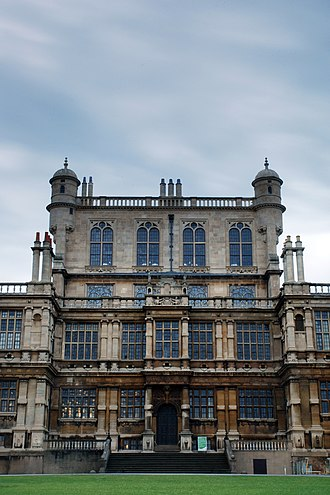 Robert Smythson - Image: Wollaton Hall