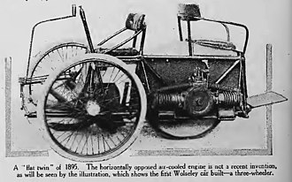 The Wolseley Sheep Shearing Machine Company - Austin's first Wolseley car dated 1895 in this 1916 article