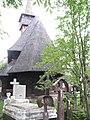 Wooden Church Birth of Virgin Mary in Ieud Deal 2011 - Cemetery.jpg
