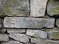 Wooden Church Birth of Virgin Mary in Ieud Deal 2011 - Stone Wall with Inscriptions-2.jpg