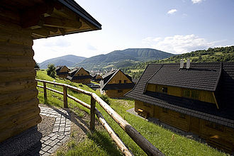 Terchová - Image: Wooden architecture in Terchová
