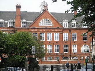 Working Men's College - In 2013