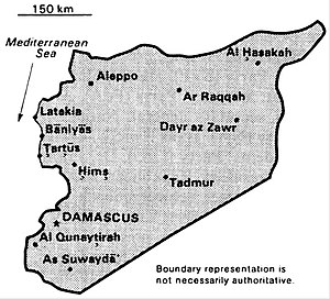 World Factbook (1990) Syria.jpg