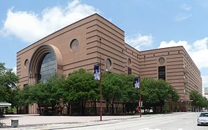 Houston Theater District - The Wortham Theater Center