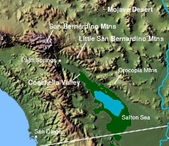 Little San Bernardino Mountains - Image: Wpdms shdrlfi 020l little san bernardino mountains