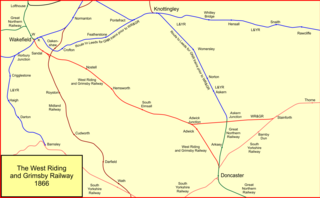 West Riding and Grimsby Railway joint railway