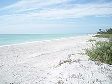 Beach Near The Western End Of Sanibel