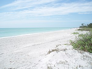English: Beach at Wulfert, Sanibel Island, Flo...