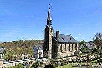 Wuppertal - Am Kriegermal - Friedhof + evangelische Kirche 02 ies.jpg