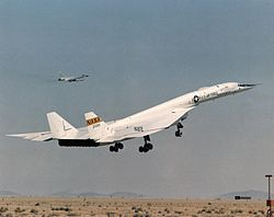 XB-70A taking off with TB-58 chase plane.jpg