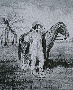 Llanero - 19th century Venezuelan llanero