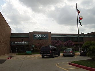 Mickey Leland College Preparatory Academy for Young Men - Former Young Men's College Preparatory Academy campus at E.O. Smith