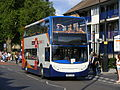YN59 EAO Stagecoach in Yorkshire, Enviro 400 19562, Barnsley 66 town lines branding. Olympic vehicle, Mabley Green, E9..jpg