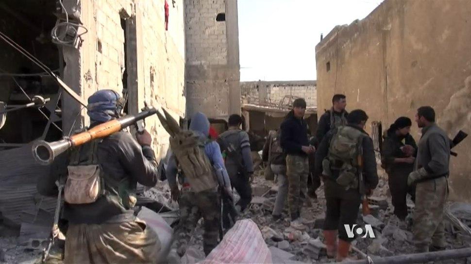 YPG à Kobané2
