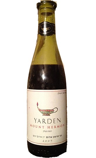 Israeli wine - Yarden wine from Israel's vineyards on Mount Hermon