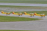 Yellow Sparrows – 2017 Sola Airshow (29435051827).jpg