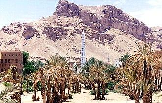 Hadhramaut Mountains - Image: Yemen Tarim Hadhramaut 1994 166346902 ed 1a 77f 685 o