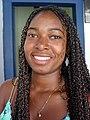 Young Woman (Adriana) at Tourist Office - Cachoeira - Bahia - Brazil.JPG