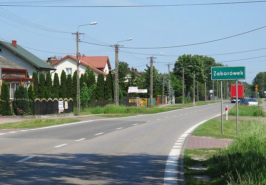Zaborówek, Warsaw West County