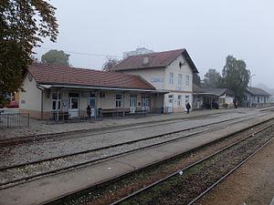 Zabok - Zabok railway station