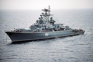 Soviet frigate <i>Zadornyy</i> Krivak-class frigate