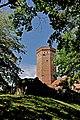 Zamek w Człuchowie - wieża.JPG
