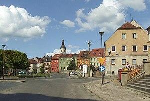 Zawidów - City center