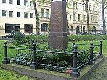 Das Ehrengrab in Berlin (Quelle: Wikimedia)