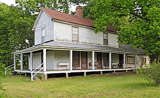 Chesnee, South Carolina - The Zeno Hicks House is listed on the National Register of Historic Places.