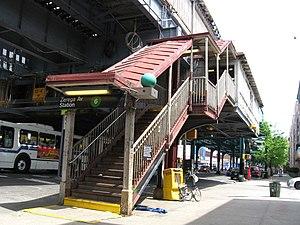 Zerega Avenue (IRT Pelham Line) - Street stair