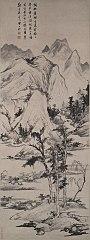 Landscape in the Style of Ni Zan(1301-1374)