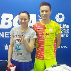 zhang nan badminton  zhao yunlei zhang nan open 2016 jpg