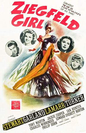 Description de l'image Ziegfeld Girl Movie Poster.jpg.