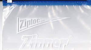 Zipper storage bag - A Ziploc-branded storage bag