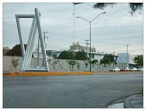 Gómez Palacio, Durango - Industrial area.